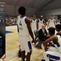 Coach Island keeps the team focused, even with a huge lead against Salt Lake City.