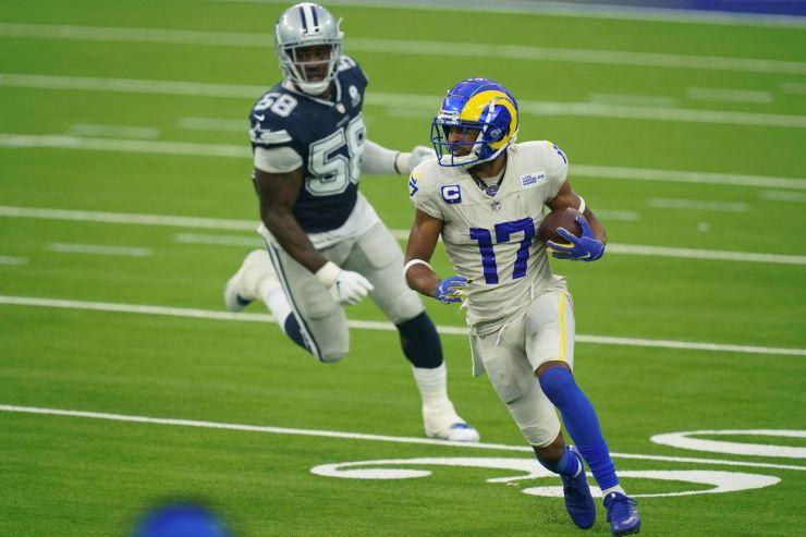Fantasy Football touchdown Robert Woods