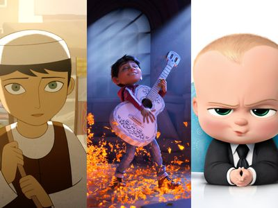 The Breadwinner, Coco, and The Boss Baby are among the nominees for Best Animated Feature at the Oscars.