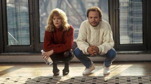 Sally (Meg Ryan) and Harry (Billy Crystal) squat