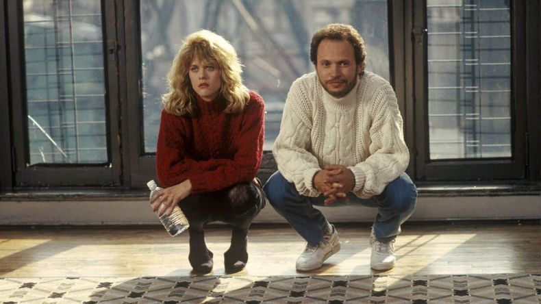 Sally (Meg Ryan) and Harry (Billy Crystal) squat