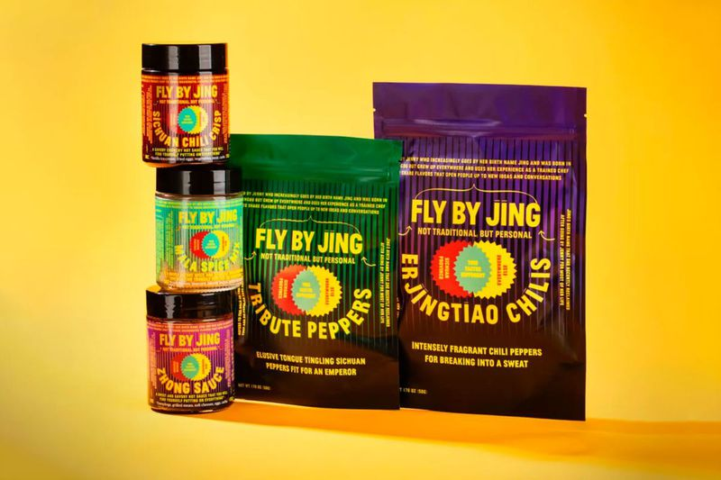 Fly By Jing jars and pouches