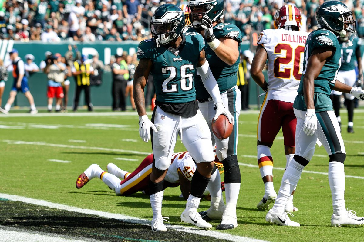Eagles Rookie Report Card: Miles Sanders' debut was better than ...