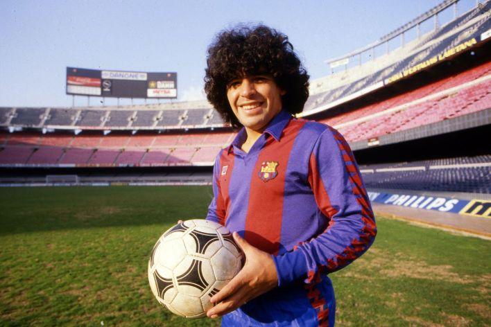 messi and barcelona stars pay tribute to diego maradona - barca blaugranes