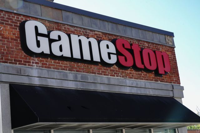 A GameStop store in Queens, New York.