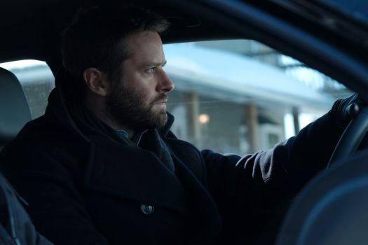 Armie Hammer as DEA agent Jack Kelly in Nicholas Jarecki's Crisis