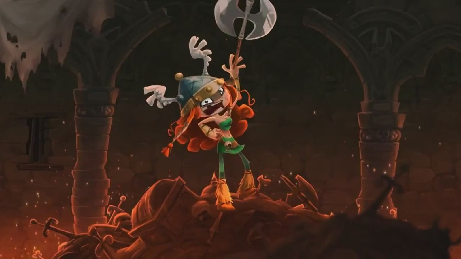Rayman Legends Introduces Viking Beauty Barbara To The