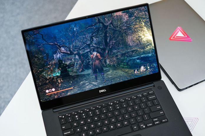 O Dell XPS 15 com uma tela OLED.