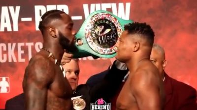 Watch Wilder vs. Ortiz 2 official staredown video ahead of FOX Sports PPV rematch