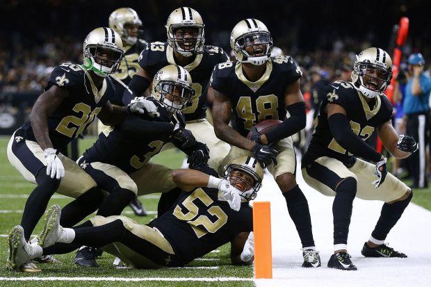 Image result for saints defense