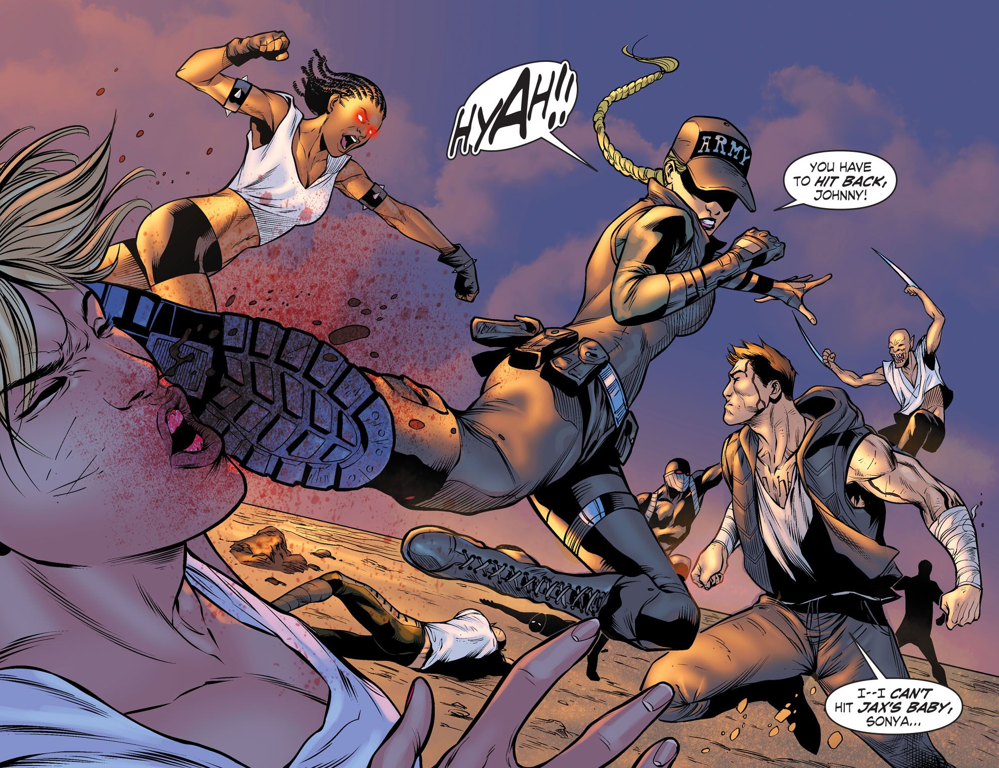 Reiko Mortal Kombat Armageddon Characters