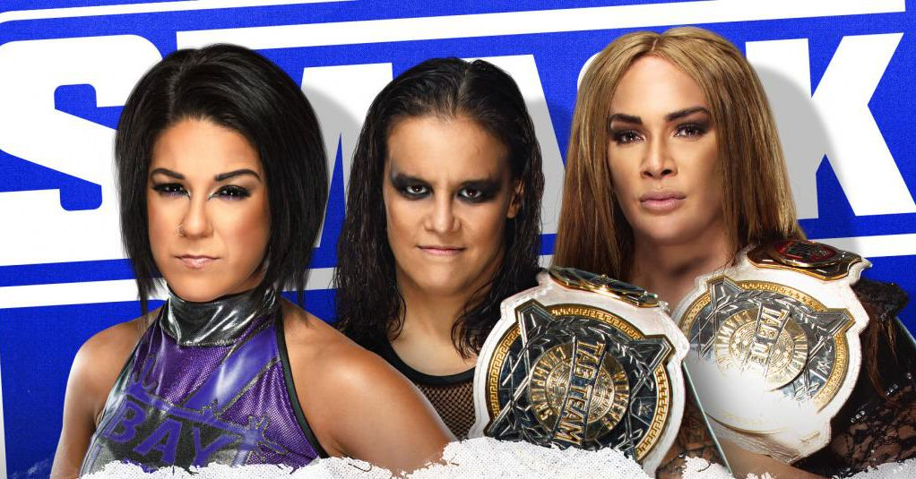 Edge, Baszler & Jax booked for tonight's SmackDown