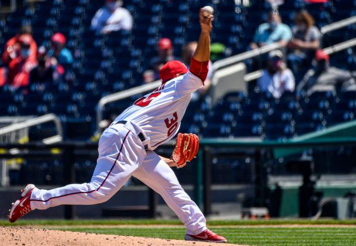 MLB: APR 18 Diamondbacks at Nationals