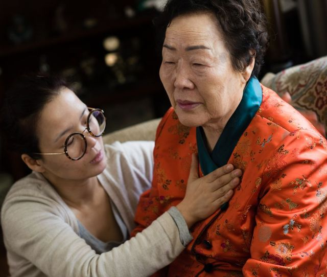 Yong Soo Lee A Korean Woman Forced Into Sexual Slavery By Japanese Forces In Virginia To Raise Awareness On Behalf Of Fellow Survivors Sarah L Voisin The
