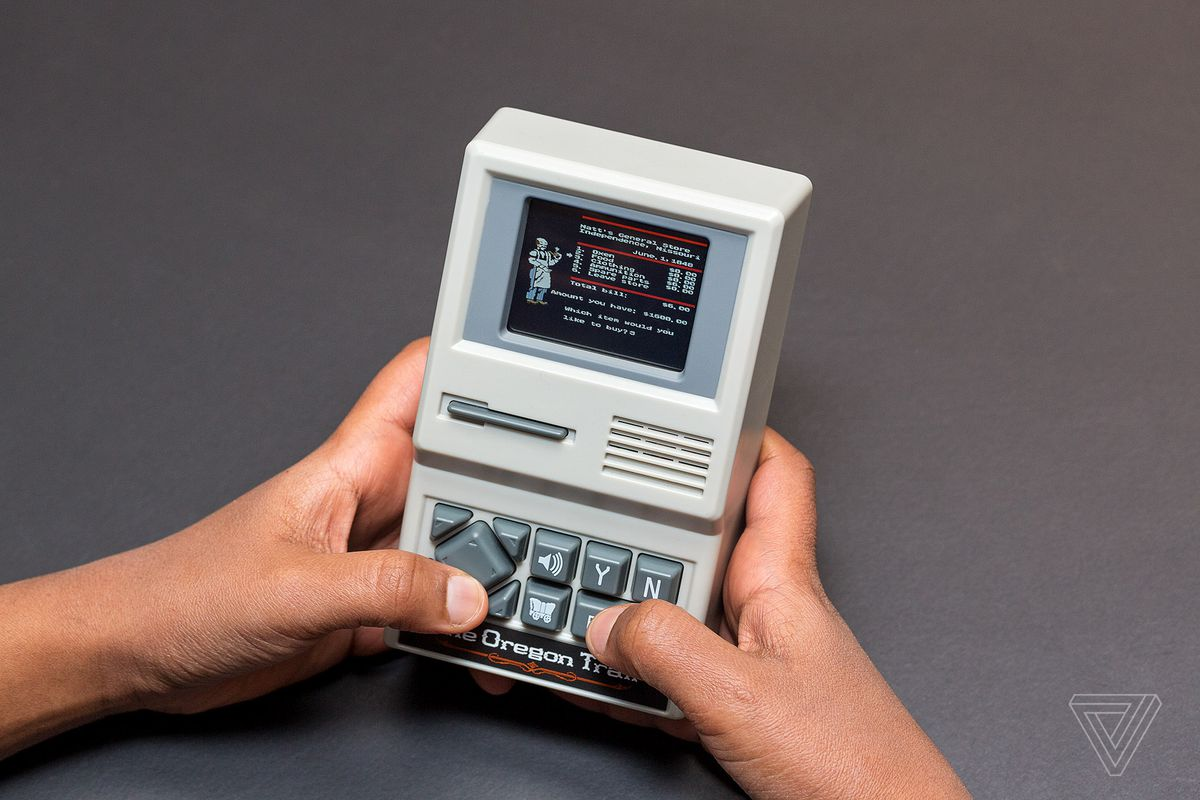 The Oregon Trail Handheld Game Review The Verge