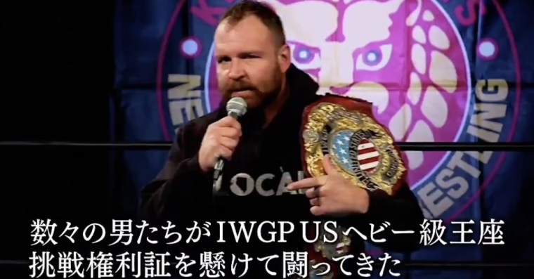 At Wrestle Kingdom, Mox reminded New Japan he's still IWGP U.S. champ