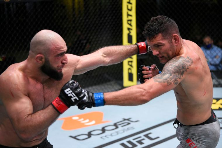 Changing the rating of UFC fighters for www.sportsandworld.com