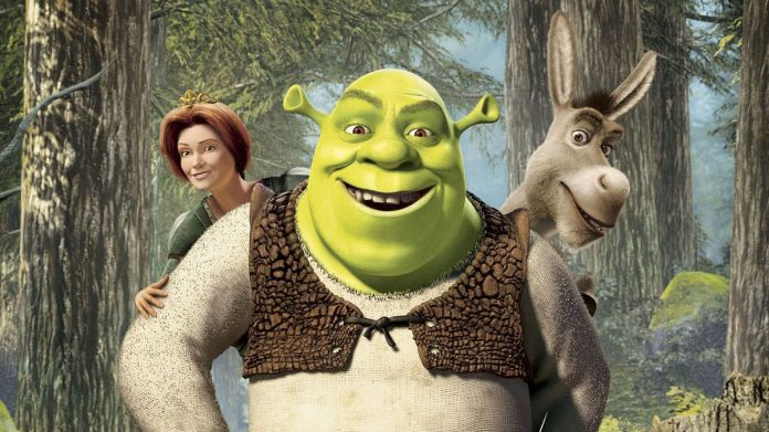Shrek - Princess Fiona, Shrek, Donkey
