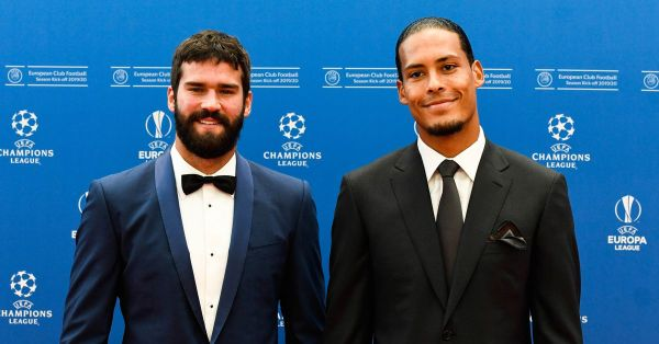 Klopp, Van Dijk, and Alisson Finalists for FIFA Best of the Year Award