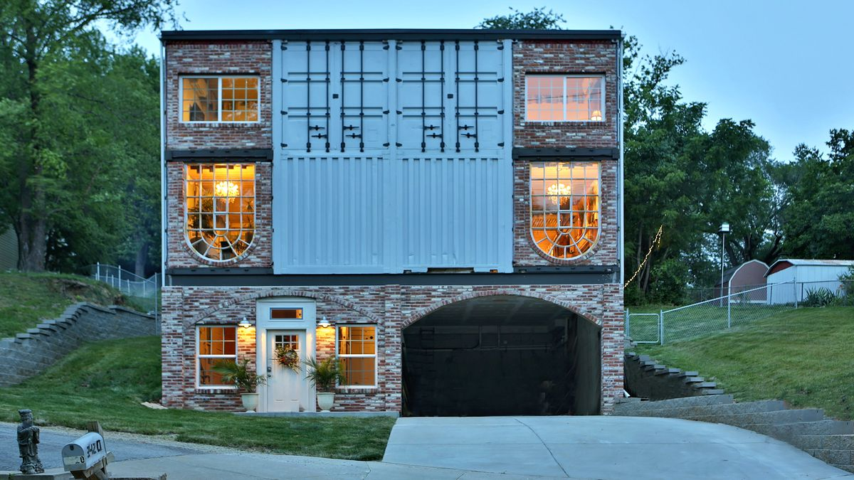 Best Kitchen Gallery: Shipping Container House Lets Its Owners Live Mortgage Free Curbed of Container Homes In The Us on rachelxblog.com