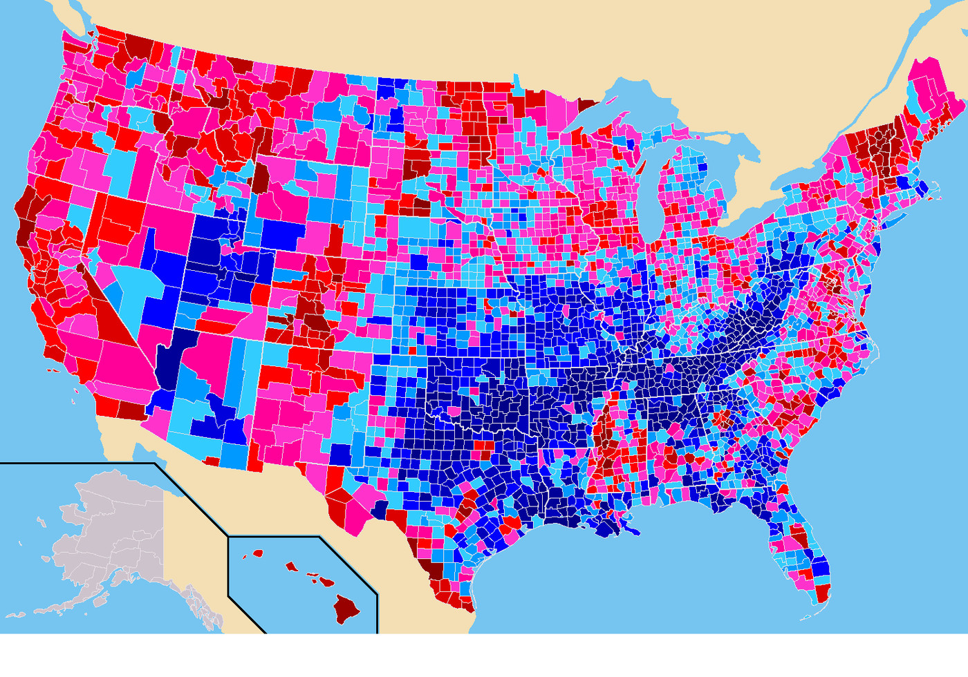 23 Maps That Explain How Democrats Went From The Party Of Racism To The Party Of Obama Vox