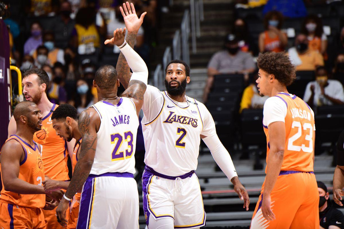 NBA 2021 Playoffs - Phoenix Suns vs. Los Angeles Lakers