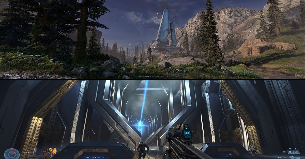 Microsoft reveals how Halo Infinite will look on 32:9 super ultrawide monitors and other PC perks