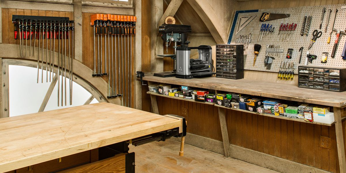 all about building a workshop this