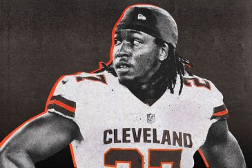 Kareem Hunt, novo Running Back do Cleveland Browns