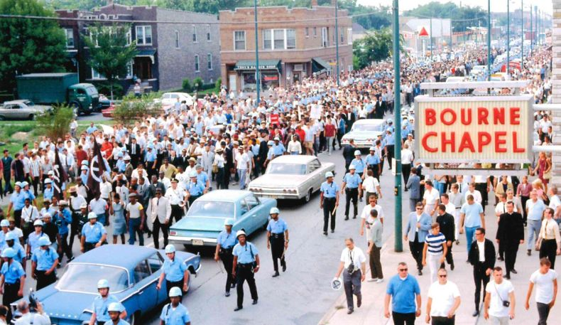 Peaceful March, Marquette Park, August 5, 1966.