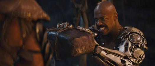 Mehcad Brooks as Jax in Mortal Kombat (2021)
