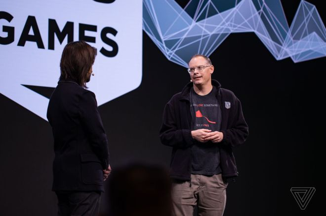 vpavic_190224_Tim_Sweeney_0001.5 Epic Games CEO Tim Sweeney thinks games can be political, but gaming companies should stay out of politics | The Verge
