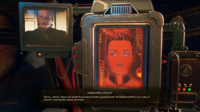 The Outer Worlds swaps Fallout's post-apocalypse for artwork deco in area 1