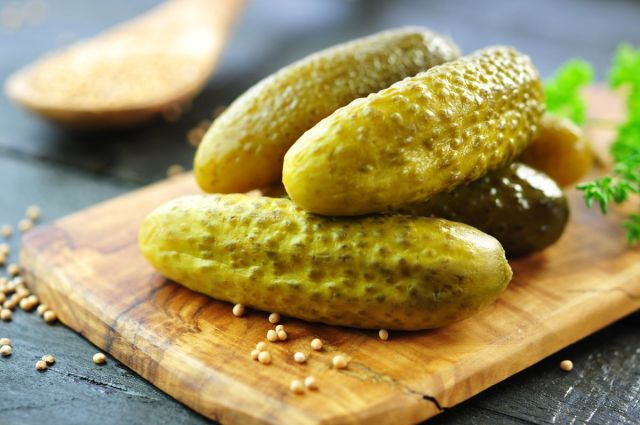 Grilled pickles are a delicious veggie option for your barbecue grill. The acidity in pickles can boost intake of antioxidants, which help the body ward off diseases, according to USDA research.