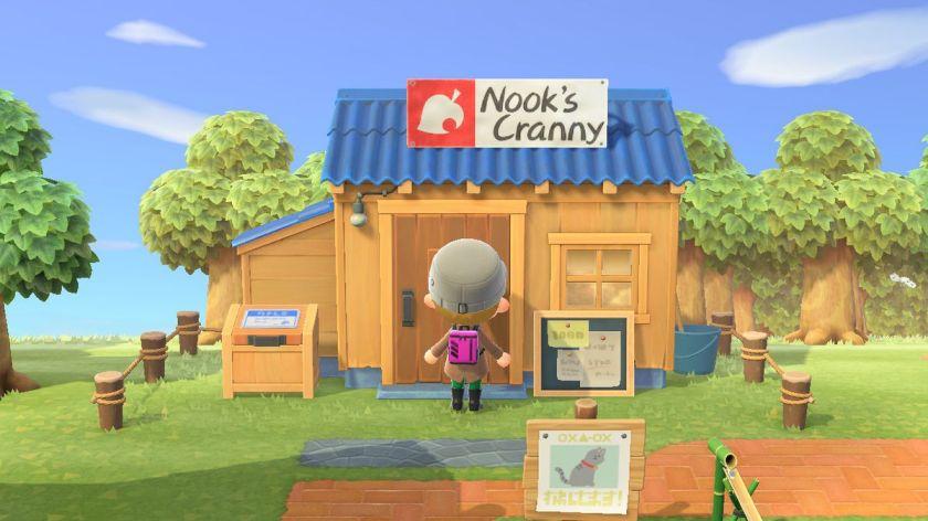 Nook's Cranny store in Animal Crossing New Horizons