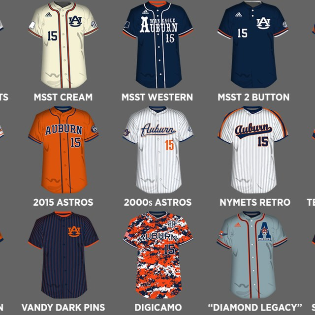 Redesigning the Auburn Baseball Uniform Part 21: The Concepts