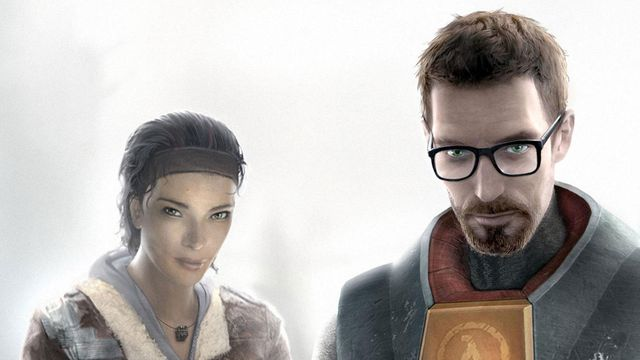 Alyx Vance and Gordon Freeman stand side-by-side