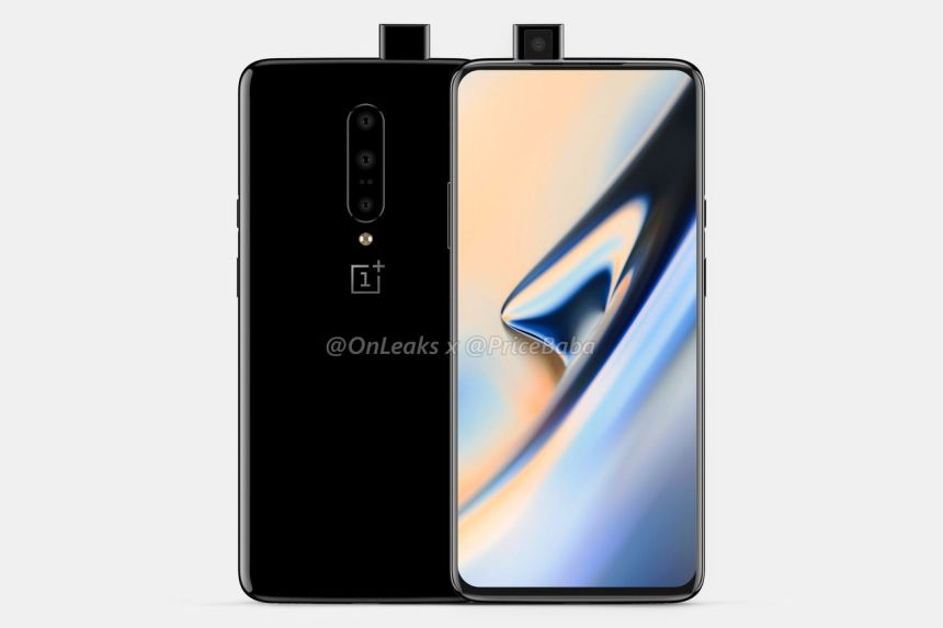 <em>OnePlus 7 Pro render based on leaks.</em>