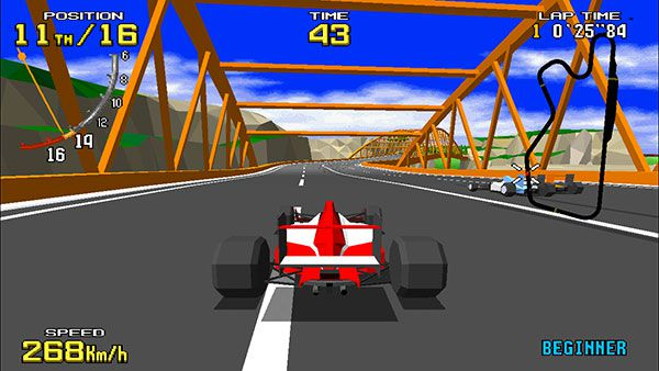 Virtua Racing on Swap overview: beautiful replace of a technical landmark 1