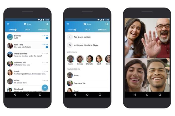 تطبيق Skype - أكثر التطبيقات تحميلاً