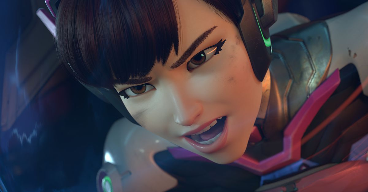 DVa Shows Off Her Piloting Skills In New Overwatch