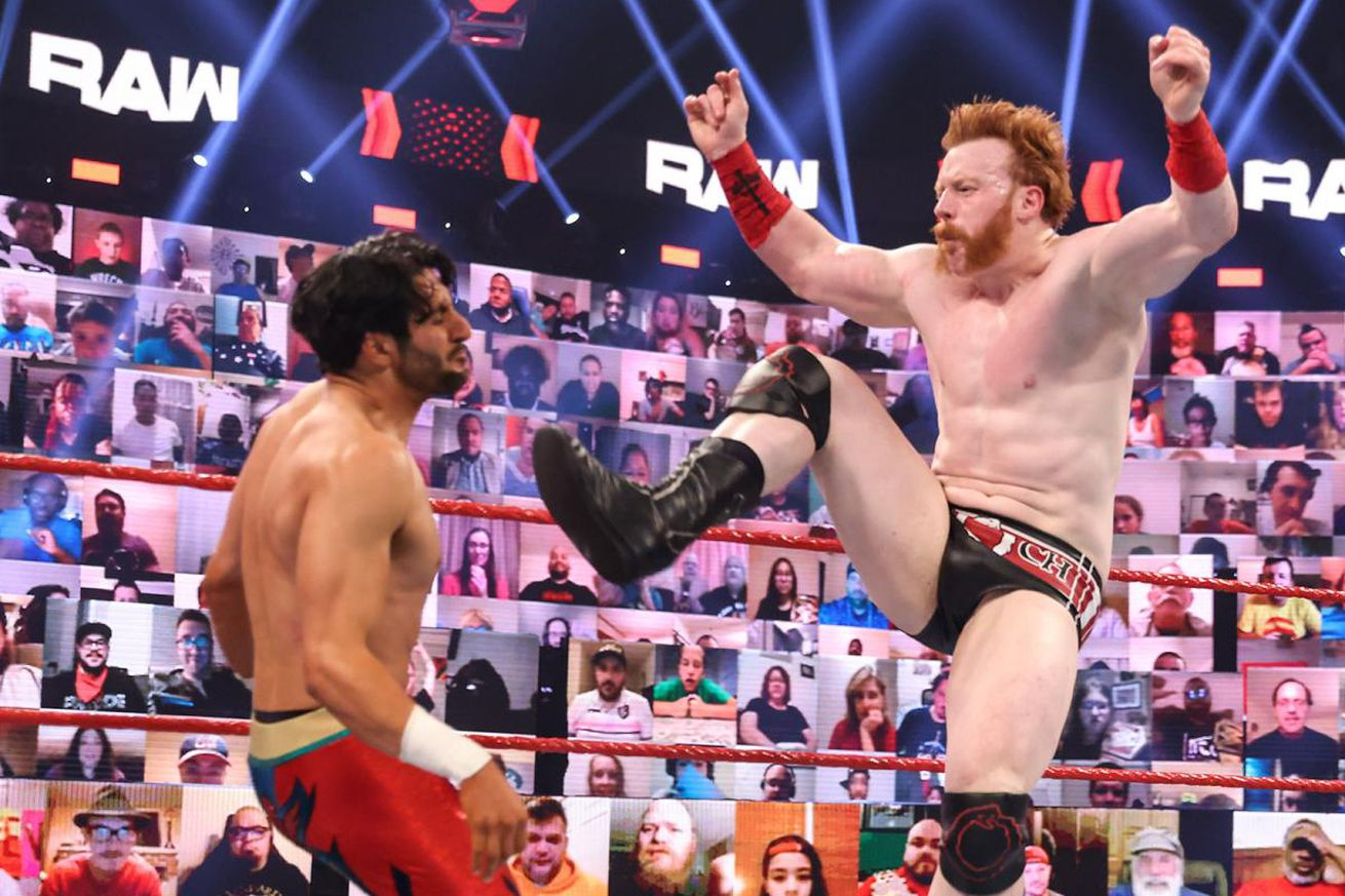 Mansoor's Raw Debut was classic WWE