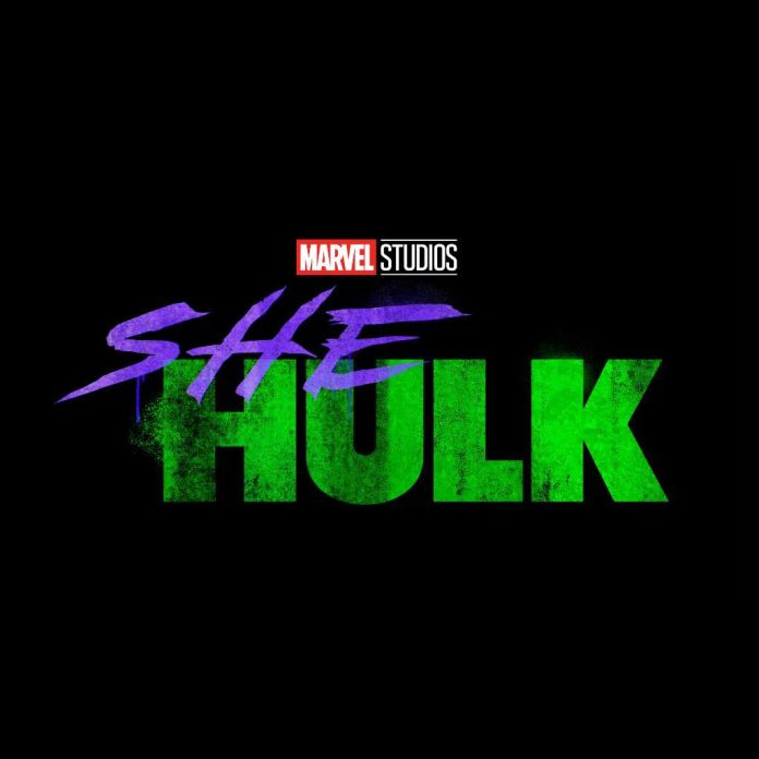 Logo for She-Hulk, the Disney Plus series.