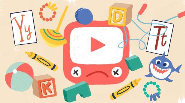 نتيجة بحث الصور عن YouTube Kids