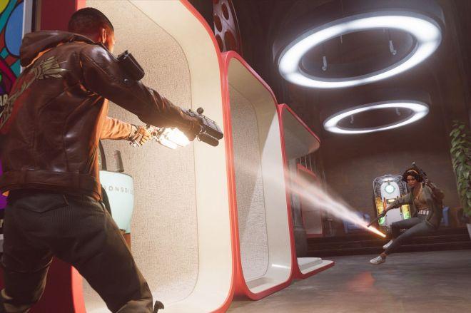 Deathloop_Rival_Showdown.0 PS5 exclusive Deathloop has been delayed again until September 14th | The Verge