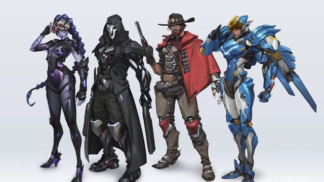 ow2_looks.0 Blizzard shows new Overwatch 2 designs for Reaper, McCree, Pharah, and Widowmaker | Polygon