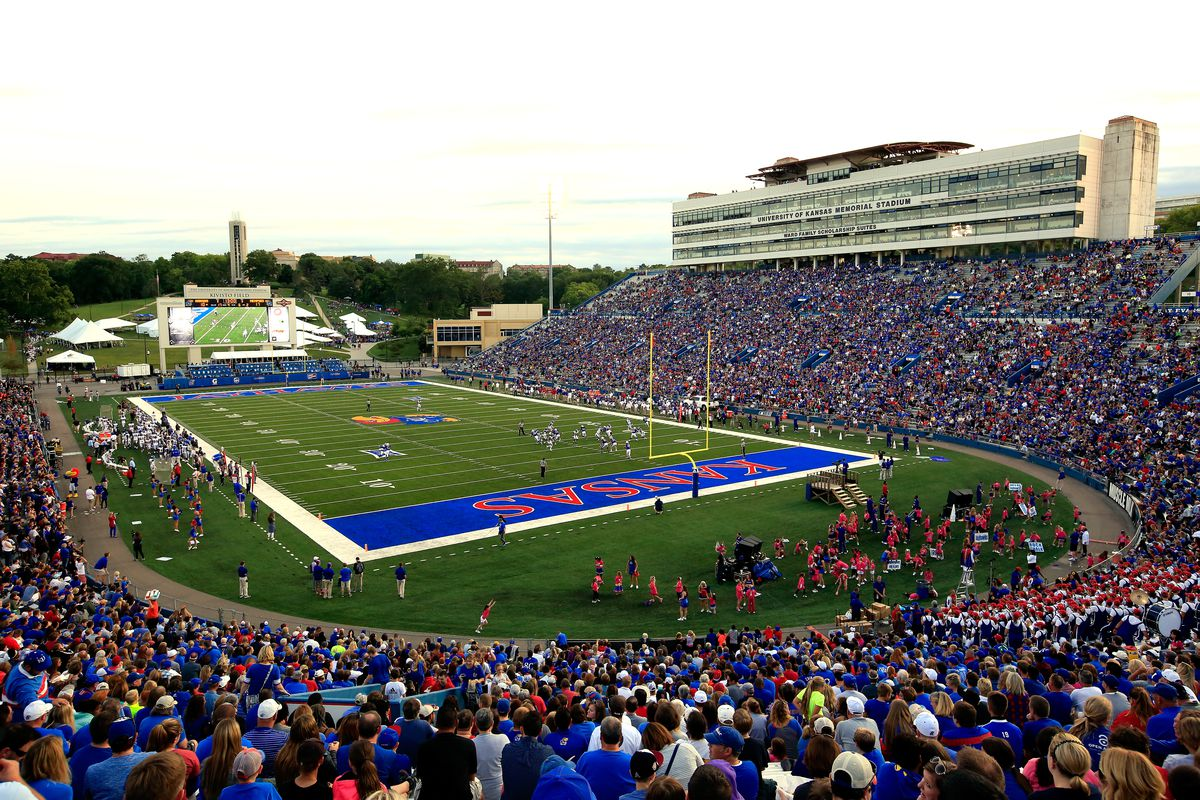 Kansas Jayhawks Football Memorial Stadium Highest