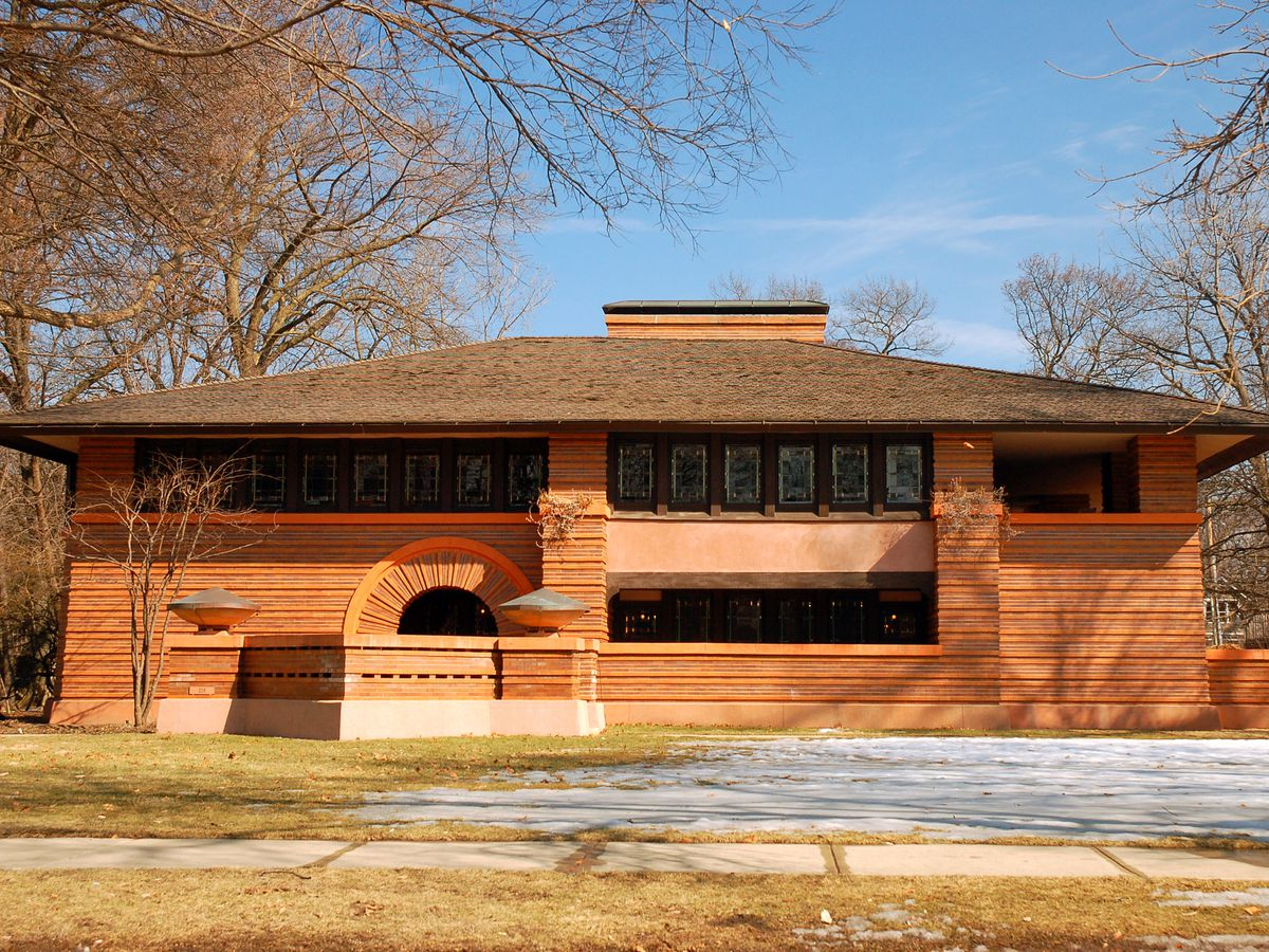 25 Frank Lloyd Wright Buildings In Oak Park Mapped Curbed Chicago