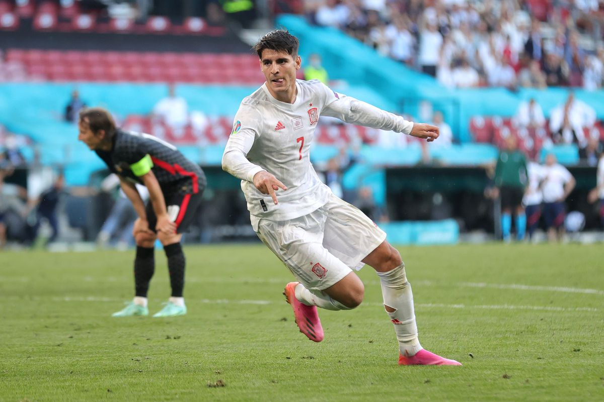 Spain vs. Croatia final score: Alvaro Morata's goal in extra time sees Spain  to quarterfinals in thrilling contest - DraftKings Nation