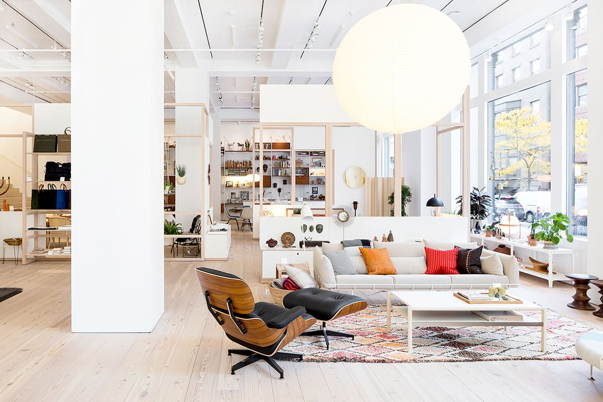 Best furniture stores in the U S    Curbed The Herman Miller flagship store in New York City  Courtesy of Herman  Miller Furniture Week